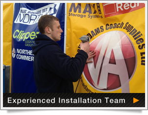 experienced installation team